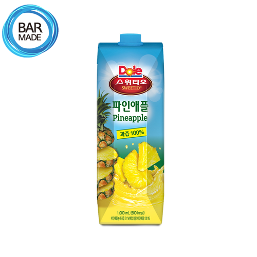 돌 파인애플 주스(1000ml) Dole Pineapple Juice