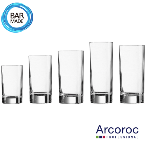 아코록 아이슬란드 하이볼 잔 (150ml/220ml/290ml/310ml/330ml) - 택1 Arcoroc Islande Highball Glass
