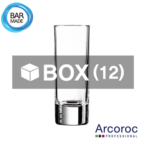 1BOX - 12ea 아코록 더블 슬래머 샷 잔(60ml)Arcoroc Double Slammer Shot Glass [40375]