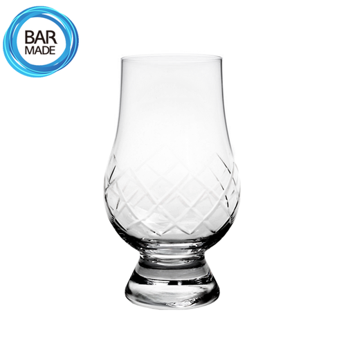 빗살 위스키 테이스팅 잔(170ml)Patterned Cut Whisky Tasting Glass