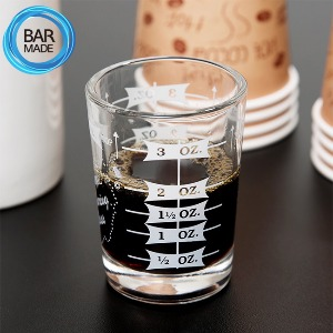 홈 계량 샷 글라스(4oz)HOME MEASURING SHOT GLASS