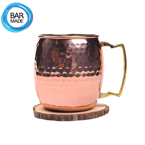 벌집 구리 머그 잔 (650ml) Beehive Copper Mug Cup
