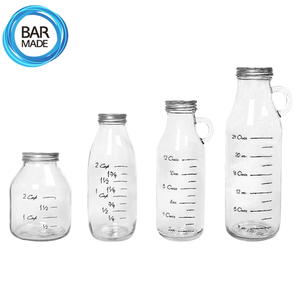 밀폐 유리병 (4종) - 택1 Airtight JAR Glass Bottle