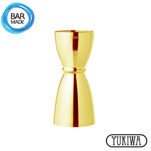 ★ 눈금 O 유키와 U형 지거 (골드) (30ml/45ml) Yukiwa U Shaped Jigger - Gold