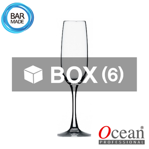 1BOX - 6ea 오션 메디슨 플릇 샴페인 잔 (210ml) Ocean Madison Flute Champagne Glass[015F07]