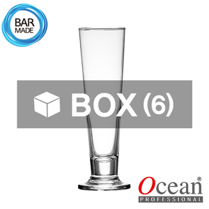 1BOX - 6ea오션 비바 풋티드 맥주 잔 (420ml)Ocean Viva Footed Beer Glass[B16315]
