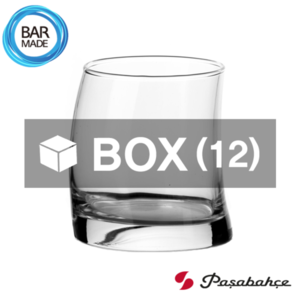 1BOX - 12ea 파사바체 펭귄 온더락 잔 (370ml) Pasabahce Penguin Rocks Glass [41500]