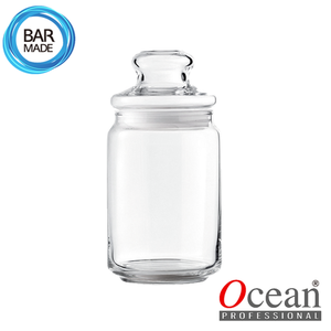 오션 POP JAR 유리병(650ml) (유리뚜껑포함)Ocean POP JAR Glass Bottle[B02523G]