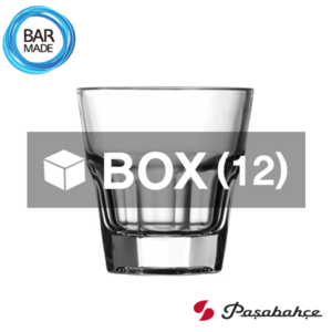 1BOX - 12ea 파사바체 카사블랑카 온더락 잔 (137ml) Pasabahce Casablanca Rocks Glass[52714]