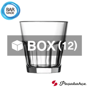 1BOX - 12ea 파사바체 카사블랑카 온더락 잔 (200ml) Pasabahce Casablanca Rocks Glass [52862]