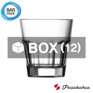 1BOX - 12ea 파사바체 카사블랑카 온더락 잔 (246ml) Pasabahce Casablanca Rocks Glass [52694]