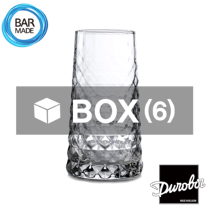 1BOX - 6ea 듀로보 젬 하이볼 잔 (350ml) Durobor Gem Highball Glass [D18-945]