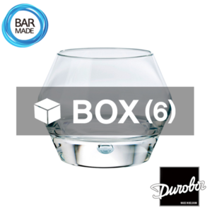 1BOX - 6ea 듀로보 브렉 락 잔 (260ml) Durobor Brek Rocks Glass [D18-868]