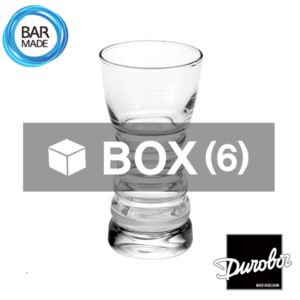 1BOX - 6ea 듀로보 바리스타 하이볼 잔 (340ml) Durobor Barista Highball Glass  [D-18-818]