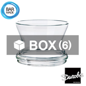 1BOX - 6ea 듀로보 밤부 락 잔 (260ml) Durobor Bamboo Rocks Glass [B-7060]
