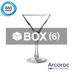 ★ 품절  1BOX - 6ea 아코록 마티니 잔 (150ml)Arcoroc Martini Glass