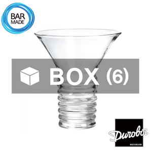 1BOX - 6ea 듀로보 일렉트로 칵테일 잔 (240ml)Durobor Electro Cocktail Glass