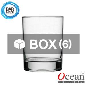 1BOX - 6ea 오션 산마리노 락 잔 (385ml) Ocean San Marino Rocks Glass [B00414]