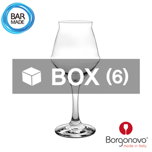 1BOX - 6ea 보르고노보 소믈리에 맥주 잔(400ml)Borgonovo Sommelier Bier Glass